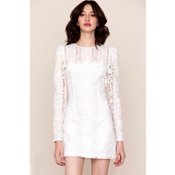 NWT Anthropologie YUMI KIM Good Timing Lace Dress